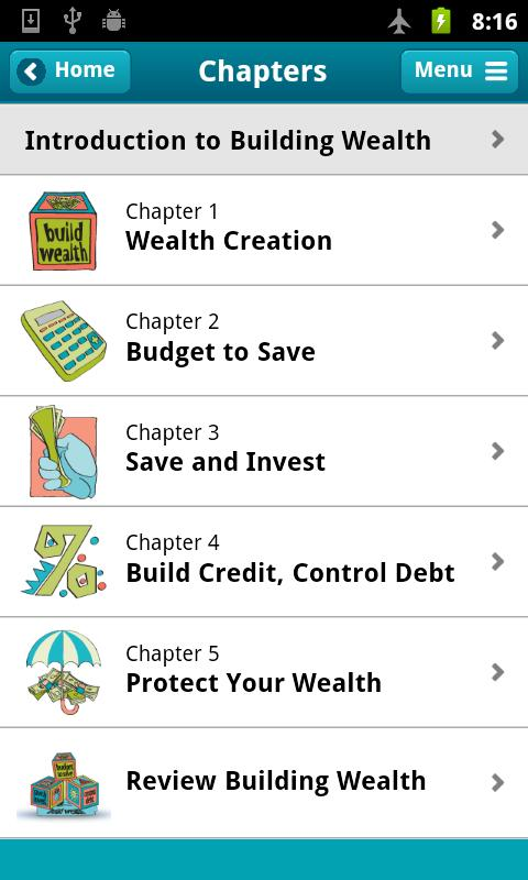 Building Wealth - screenshot