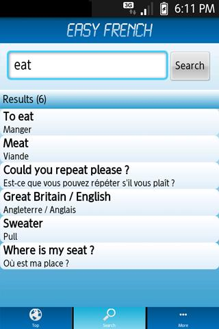 Easy French - Learn French ! - screenshot
