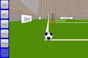 Screenshot of Curve Kick