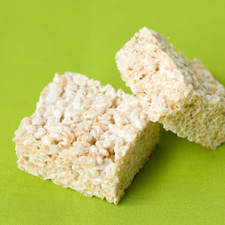 Olive Oil Rice Krispie Treats Recipe