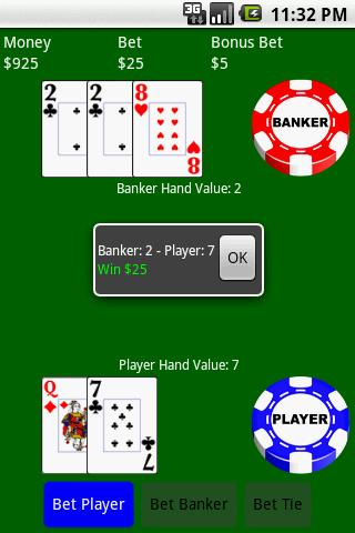 Baccarat (Free)- screenshot