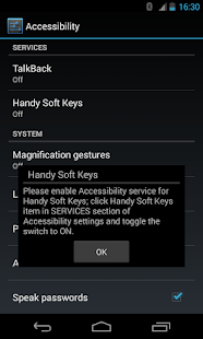 Handy Soft Keys- screenshot thumbnail