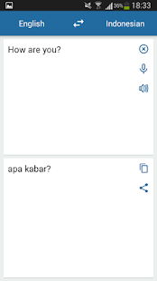 Indonesian English Translator - náhled