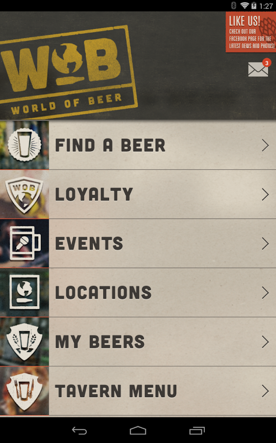 World of Beer Mobile- screenshot