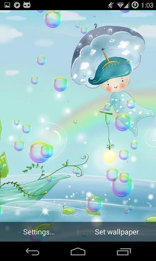 肥皂泡泡動態壁紙