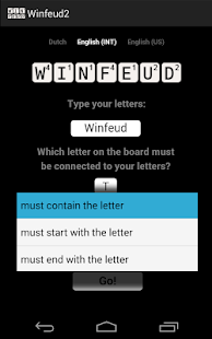 Winfeud the Wordfeud helper - screenshot thumbnail