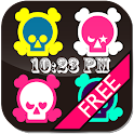 [Free]Skull Flow! LWP icon