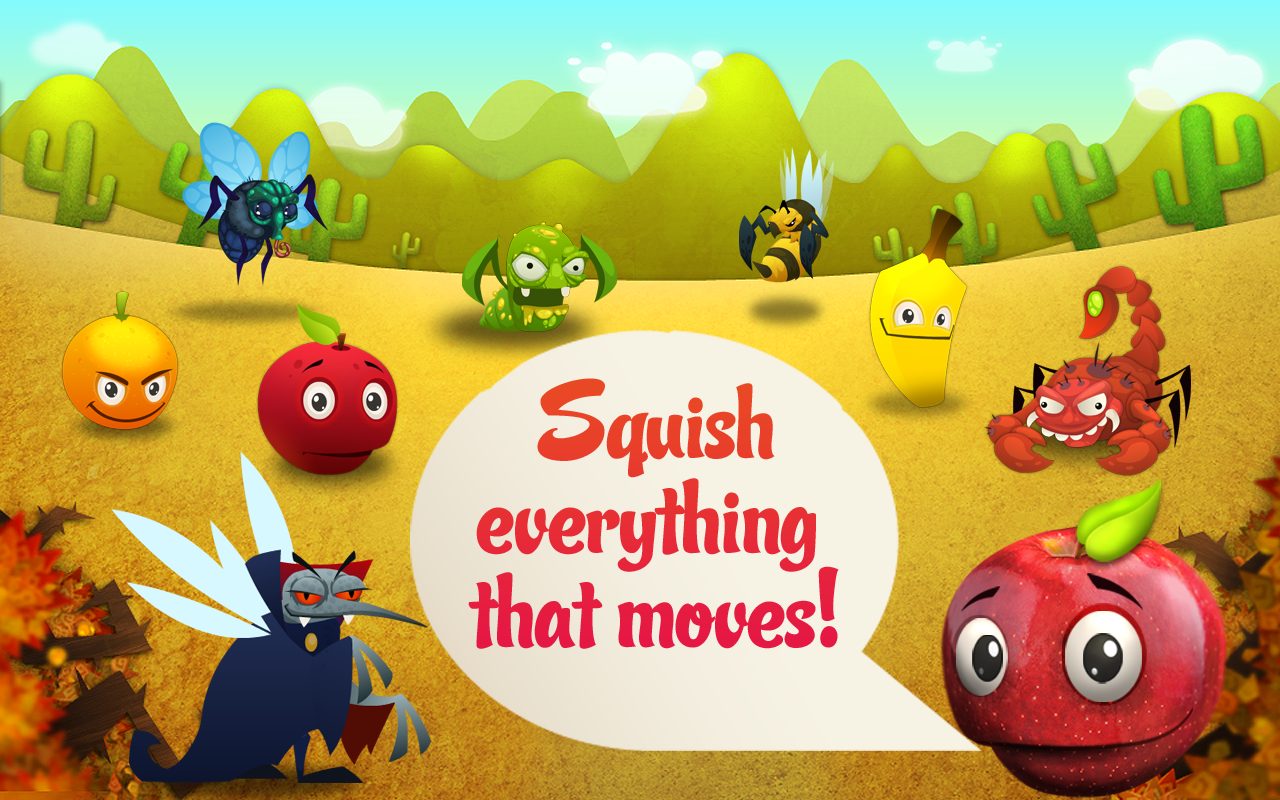Squishy Fruit FREE- screenshot