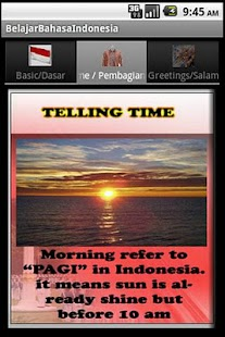 Belajar Bahasa Indonesia- screenshot thumbnail