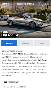 BMW Genius App- screenshot thumbnail