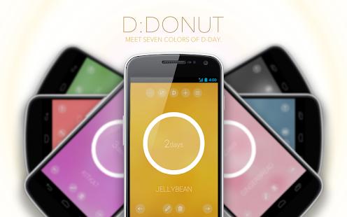 D-DAY DONUT:七彩虹D日