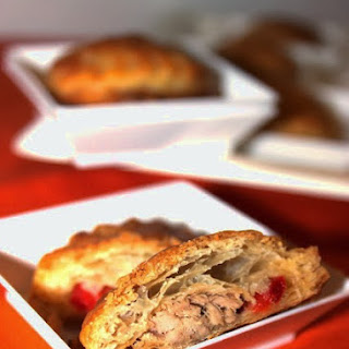 Puff Pastry Tuna and Pepper Ravioli.