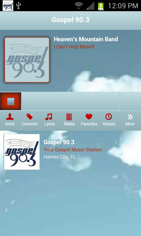 Gospel 90.3 - screenshot