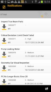 SAP Work Manager - náhled