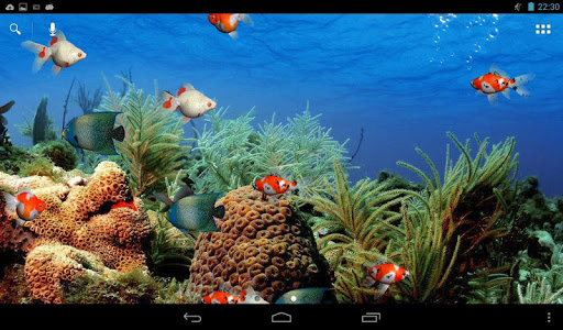Aquarium Live Wallpaper screenshot 5