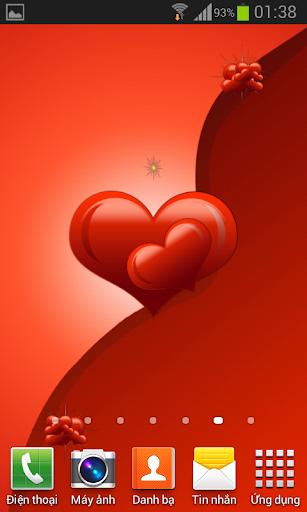 Hình nền động trái tim