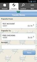 Screenshot of Austin Bank Mobile
