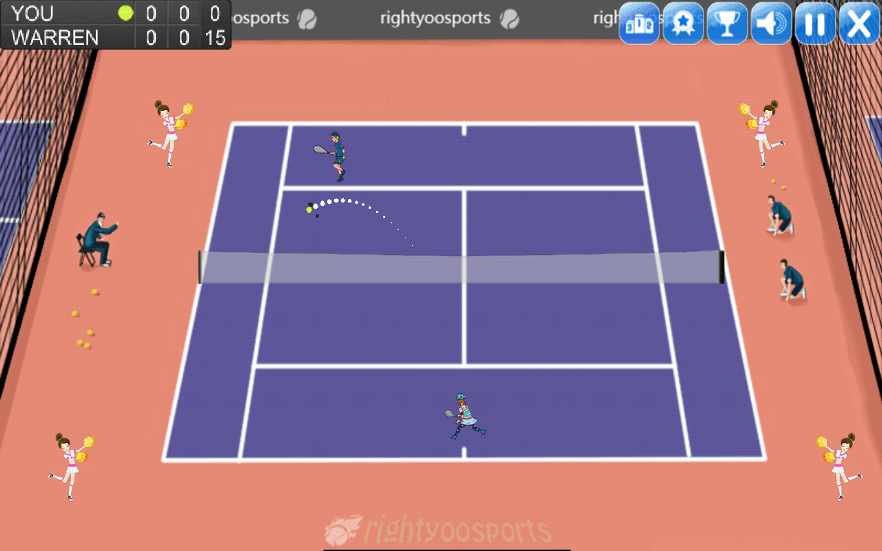 Tennis Masters Cup- screenshot