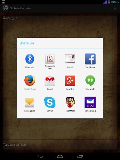 Sinhala Unicode by Madushanka Perera (Google Play, United