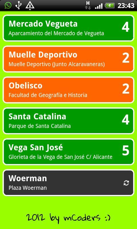 Lista Bicis Las Palmas - screenshot