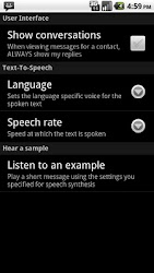 SMS Speak APK 4