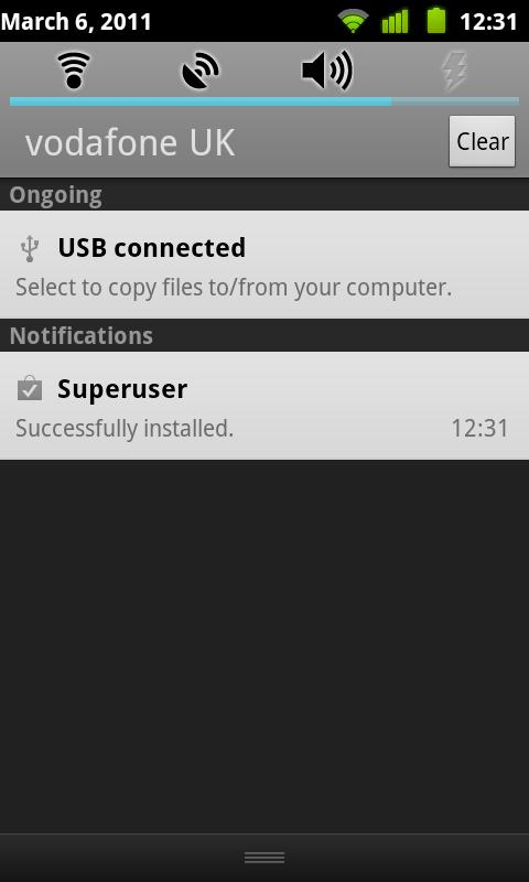 Superuser Update Fixer - screenshot