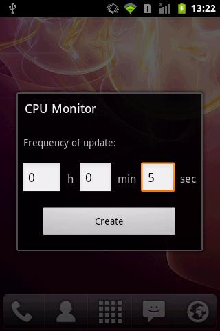 CPU Monitor - screenshot