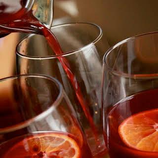 Sweet & Spicy Red Wine Sangria (aka sangria de noche buena).