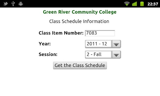 GRCC Student App - screenshot thumbnail