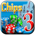 Teen Patti chips icon