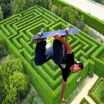Maze Skate Master