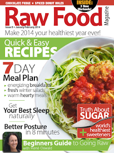 Raw food magazine android apps on google play raw food magazine screenshot thumbnail forumfinder Choice Image