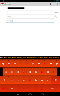 Orange Keyboard
