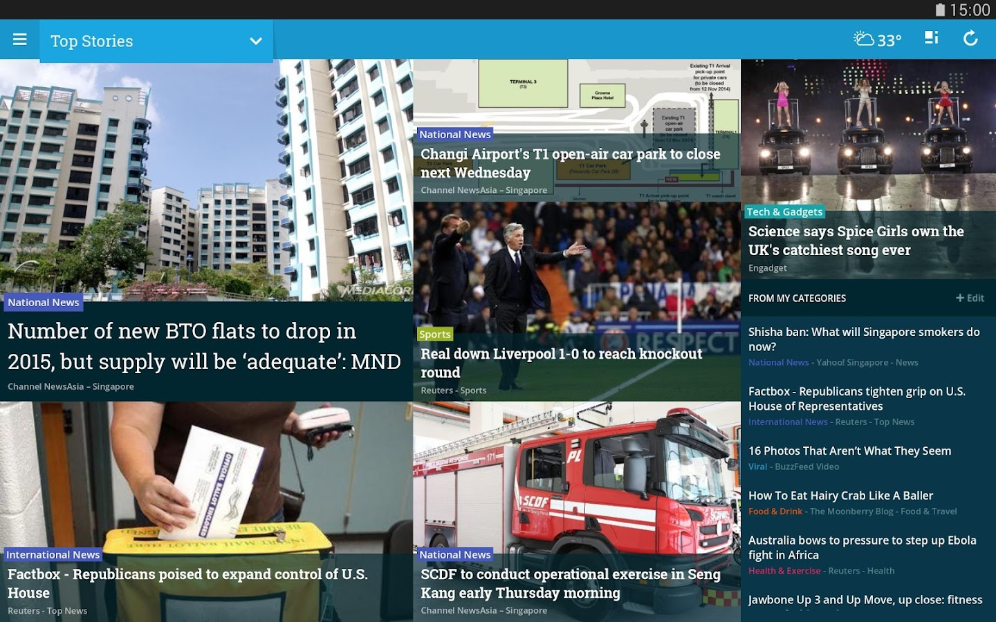 NewsLoop - screenshot