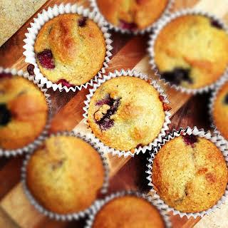 Almond Flour Berry Muffins {Gluten Free}.