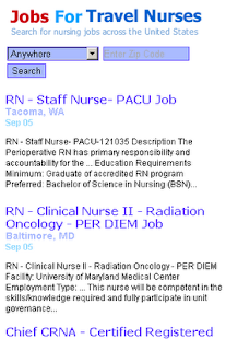 Jobs For Travel Nurses - screenshot thumbnail