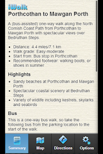 iWalk Porthcothan-Mawgan Porth - screenshot thumbnail