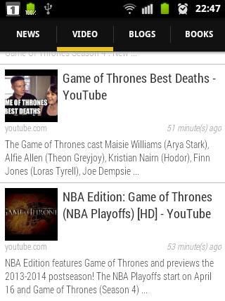 GoT News - screenshot