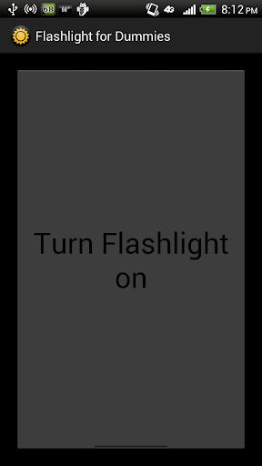 Flashlight for Dummies