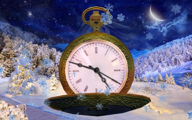 3d clock wallpaper - photo #20