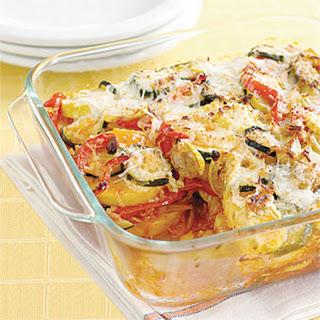 Vegetable Polenta Lasagna.