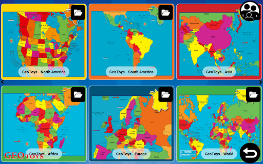 Geo Puzzles Games by GeoToys