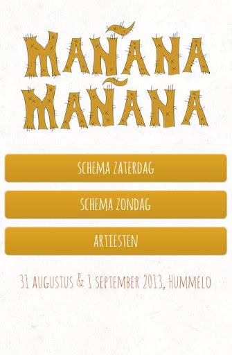 Manana Manana 2014