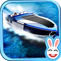 Motor Boat River Run 3D icon