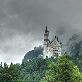 Neuschwanstein Schloss by Roger Gulle Gullesen - Buildings & Architecture Public & Historical