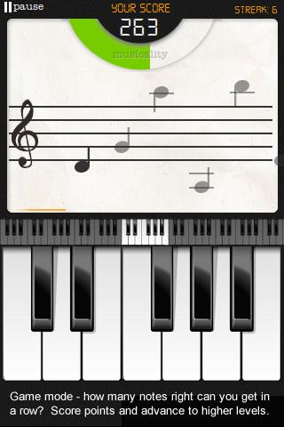 Note Trainer Lite Learn Piano- screenshot