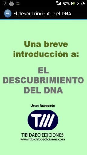 El descubrimiento del DNA