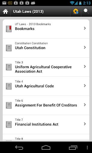Utah Code UT Law Statutes
