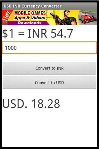 download usd inr currency converter google play softwares