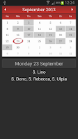 Screenshot of Namedays and Birthdays Lite